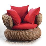 Rattan furniture / rattan sofa / rattan sofa / rattan living room sofa