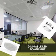 Adjust your Indoor Lighting with 5/6'' Dimmable LED Downlights