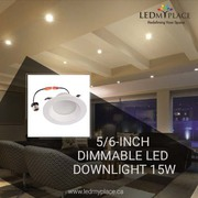 Install LED Downlights and Replace Existing Halogen Lights
