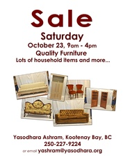 SALE OF FURNITURE & OTHER GOODS